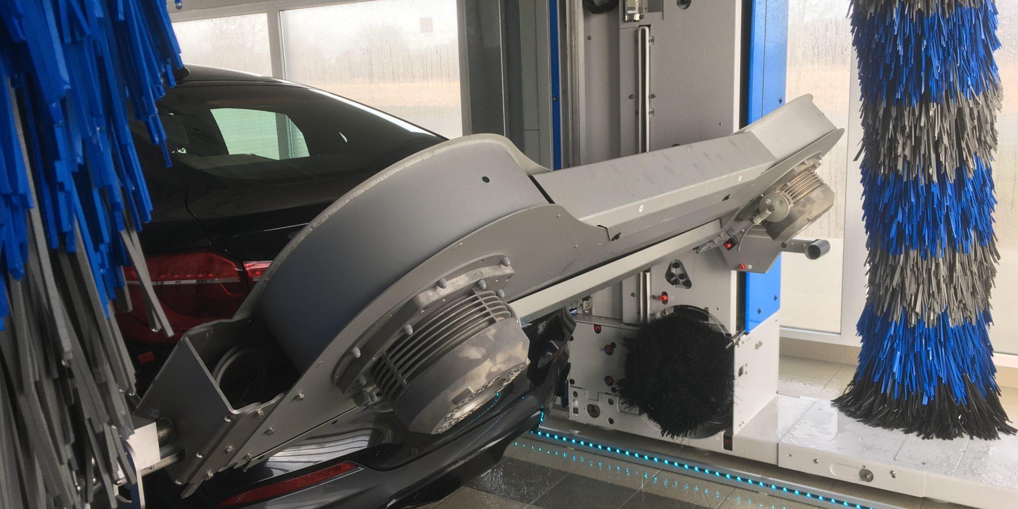 Tørring 1 + LED i køreskinne